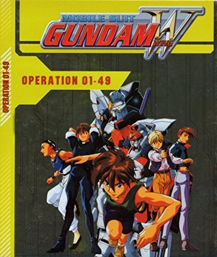 Mobile Suit Gundam Wing - Sammelbox (10 DVDs)