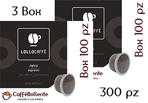 Lollo Caffè - Nero espresso - Capsula FAP Lavazza Espresso Point - 300 pz (3x100)