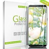 Vetro Temperato Galaxy S8 Plus, Aonsen [2 pack] 3D copertura completa Pellicola protettiva 9H durezza Resistente ai graffi Alta Definizione Screen Protector per Samsung Galaxy S8 Plus - Trasparente