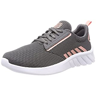 K-Swiss Women's Aeronaut Trainers, Grey (Charcoal/Peaches N Cream 017), 6 UK
