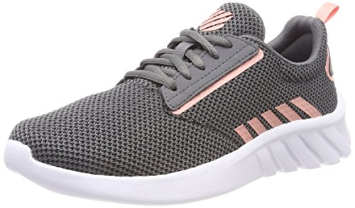 K-Swiss Damen Aeronaut Sneaker, Grau (Charcoal/Peaches N' Cream 017), 41 EU