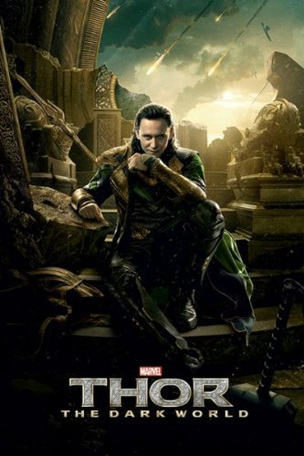 Thor 2: The Dark World - Movie Poster (Loki) (Size: 24 x 36) by Posterstoponline
