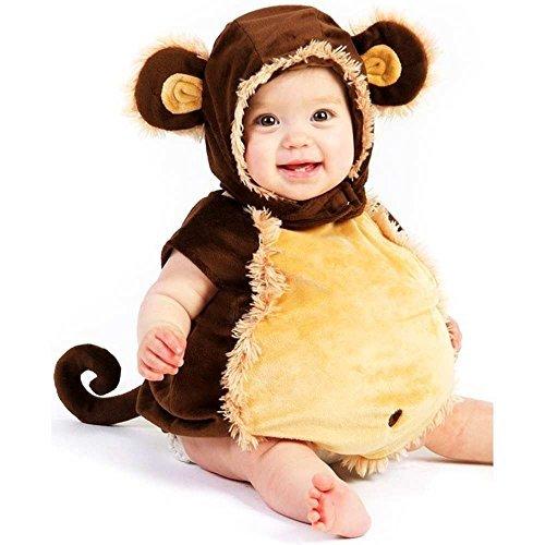 [ABZ Company] Monkey Kleinkind Halloween-Kostüm Hoax wie flauschig Einteiler afghanischen (Decke) Pyjama 18Monate/2T
