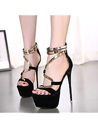 GTVERNH-in primavera roma sandali scarpe zip tubo fico calzature 39 albicocca
