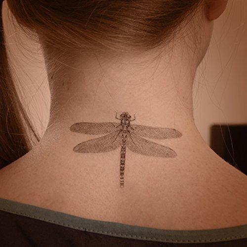 Libelle Kunst temporäre Tätowierung