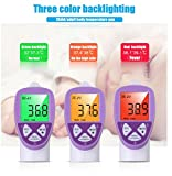 DEMIDEL Digital Infrared Forehead Instant Read Non Contact Thermometer for Fever with Fahrenheit or Celsius Settings