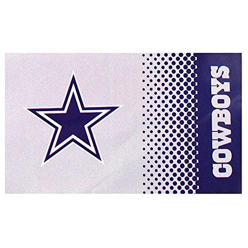 Dallas Cowboys NFL Official Crest Design Fade Flag