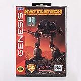The Crowd Tradensen Battletech Cartouche de Jeu 16 Bits avec boîte de Vente pour Sega Mega Drive pour Genesis
