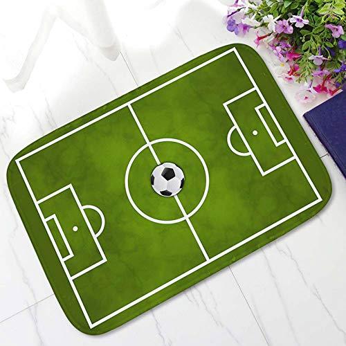 Warmiehomy - Alfombra de fútbol