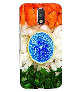 ColourCraft Creative Image Design Back Case Cover for MOTOROLA MOTO G4