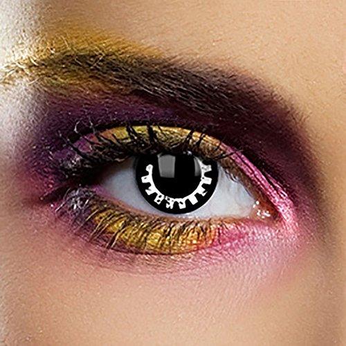 EDIT 1 Jahr Farbige Kontaktlinsen Ohne Stärke (Cog - (Kostüm Cog)