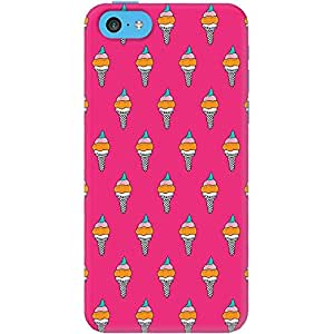 iphone 5c back case cover ,Pink Icecream Designer iphone 5c hard back case cover. Slim light weight polycarbonate case with [ 3 Years WARRANTY ] Protects from scratch and Bumps & Drops.