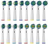 La Ultimativa testine spazzolino di Oliver James pack di varietà | 16 testine di ricambio...