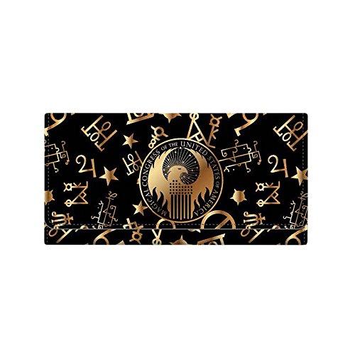 Preisvergleich Produktbild Phantastische Tierwesen MACUSA Geldbörse zu Fantastic Beasts schwarz