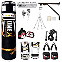 15 Pieces 5ft Heavy Filled Boxing Punch Bag Gloves Bracket Punching Gloves for Training Kickboxing MMA 100% Water Proof Bag