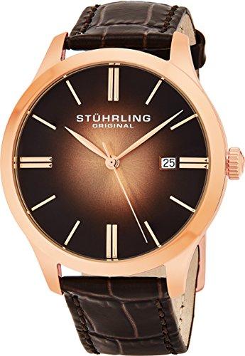 Stuhrling Original 706.01 Herren-Armbanduhr Analog Quarz - Quarz Original Stuhrling Swiss