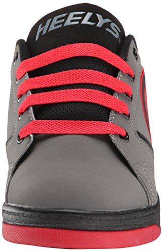 Heelys PROPEL 2.0 Schuh 2015 grey/red/black Gris