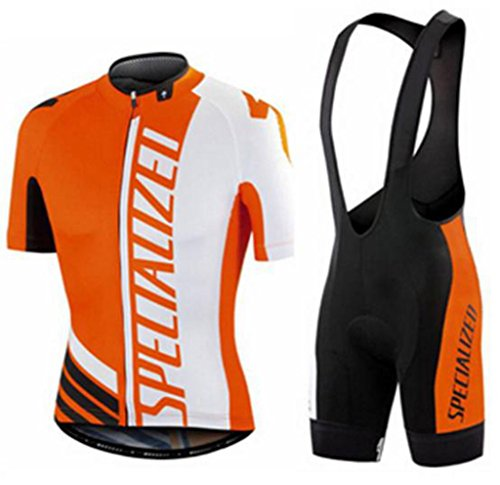 mens-road-cycling-race-pro-cycling-jerseys-and-cycling-bib-shorts-kit-orange-white-x-large