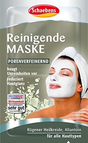 Schaebens Reinigende Maske, 10er Pack (10 x 10 ml)