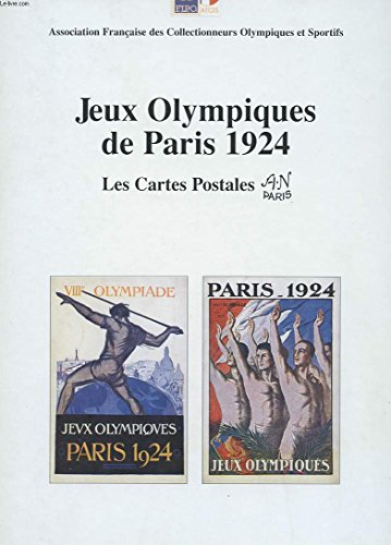 Jeux Olympiques de Paris 1924 : Les cartes postales