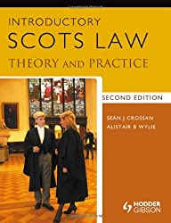 Introductory Scots Law: Theory and Practice 2nd Edition