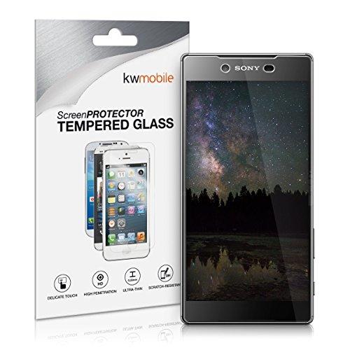 Kwmobile pellicola protettiva vetro temperato per sony xperia z5 premium - proteggi schermo trasparente in vetro protezione ultra resistente