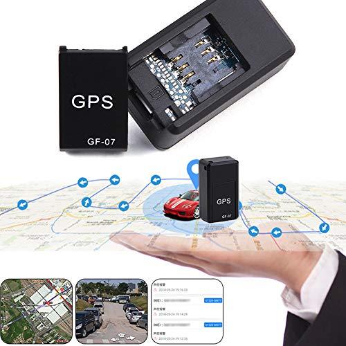 Haodene Mini GPS Tracker, GF07localizador vehículo en Tiempo Real-Localizador gsm/GPRS localizador antirrobo...