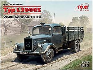 ICM 35420Maqueta de Tipo L3000S, WWII German Truck, Juego