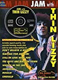 Jam With Thin Lizzy Guitar Tab Sheet Music, CD