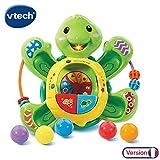 VTech- Tortue Tourni Pop Balles, 80-506105