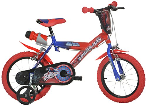 DINO BIKES 16 INCH SPIDER MAN CHILDRENS BIKE
