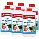 Mellerud Algen und Grünbelag Entferner 1L - Verzögert den Neubefall (6er Pack)