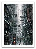 Art-Poster - Hong Kong - Wlop - 50 x 70 cm (22€)