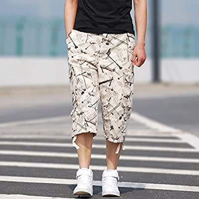 Cool&D Herren Shorts Cargo Shorts Bermudas Kurze Hosen Freizeit Sports Shorts mit Multi Pockets