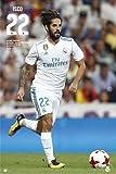 Fußball - Real Madrid - Isco 17/18 - Sport Poster Plakat - Größe 61x91,5 cm