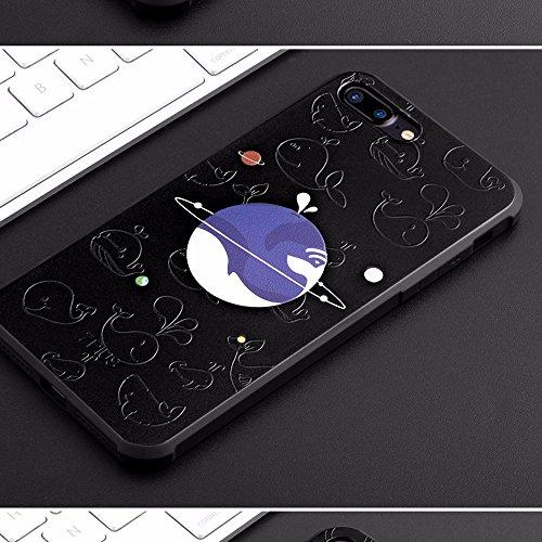 UKDANDANWEI Apple iPhone 7 [QKS] TPU Souple Housse de Protection Case Téléphone Pour Apple iPhone 7 - Style(07) Style(06)