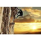 Merlin65Scott Klettern Nature Poster Kunstdruck auf Leinwand Bild 30,5x 40,6cm
