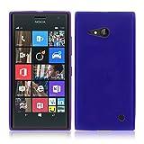 TBOC® Blau Gel TPU Hülle für Nokia Lumia 730 Dual SIM