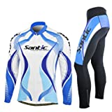Santic New Men Cycling Long-sleeve Jersey Bicycle Wicking fabric