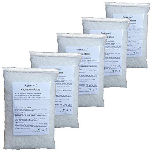 Rekosan ® Magnesiumchlorid 47% MgCl2 Flakes 5 x 1 kg