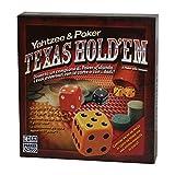 Parker yatzee e poker gioco carte e dadi