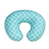 Best Boppy Breastfeeding Pillows - Boppy Pillow Slipcover, Classic Plus Trellis Turquoise/Blue Review