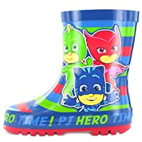 laylawson Kids PJ Masks Iddings Wellington Boots