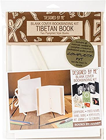 Books By Hand Designed By Me Blank Cover Bookbinding Kit-Tibetan