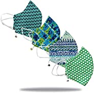 Rapsodia Cotton Unisex Cloth Mask-Pack Of 10/20/30- Assorted Colors