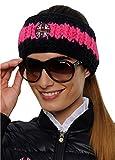 SPOOKS Stirnband Headband Stripe navy/pink