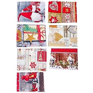 Navidad Extra grande Rectangular Poliéster Mantel Fiesta de Navidad Cubierta de la mesa de comedor Mesa de cocina Mantel decorativo Muñeco de nieve Papá Noel Árbol de Navidad 150 x 180 cm