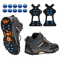 Eis Schnee Schuh Stiefel Spikes Griffe Steigeisen Wandern Größen Klemmen