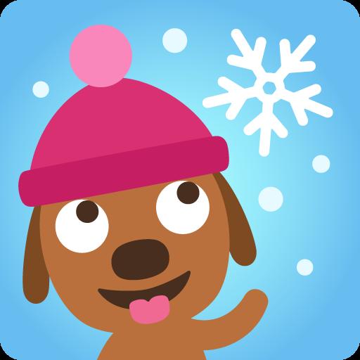Sago Mini-Schneetag (Schnee-spiele Für Kinder)