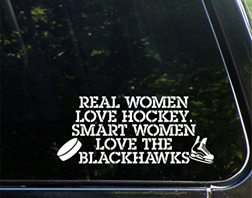 real-women-love-hockey-smart-women-love-the-blackhawks-8-3-4-x-3-3-4-vinyl-die-cut-decal-bumper-stic
